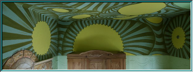Rocaille, Ceiling Paint, furniture design, shell ornaments, leaf and vine decoration, shells, sea snail, axial geometry, asymmetry