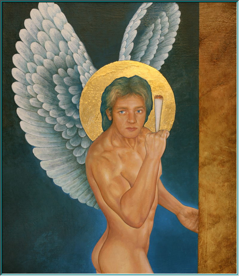 raphael angel, fallen angel, Lucifer, Satan, Hell, blasphemy, self-deification