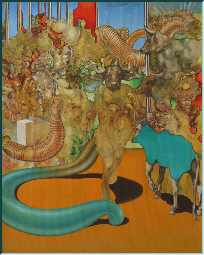 Picasso Minotaur, oil paintings, serpentine, spirals, meanders, floor labyrinth, finger labyrinth