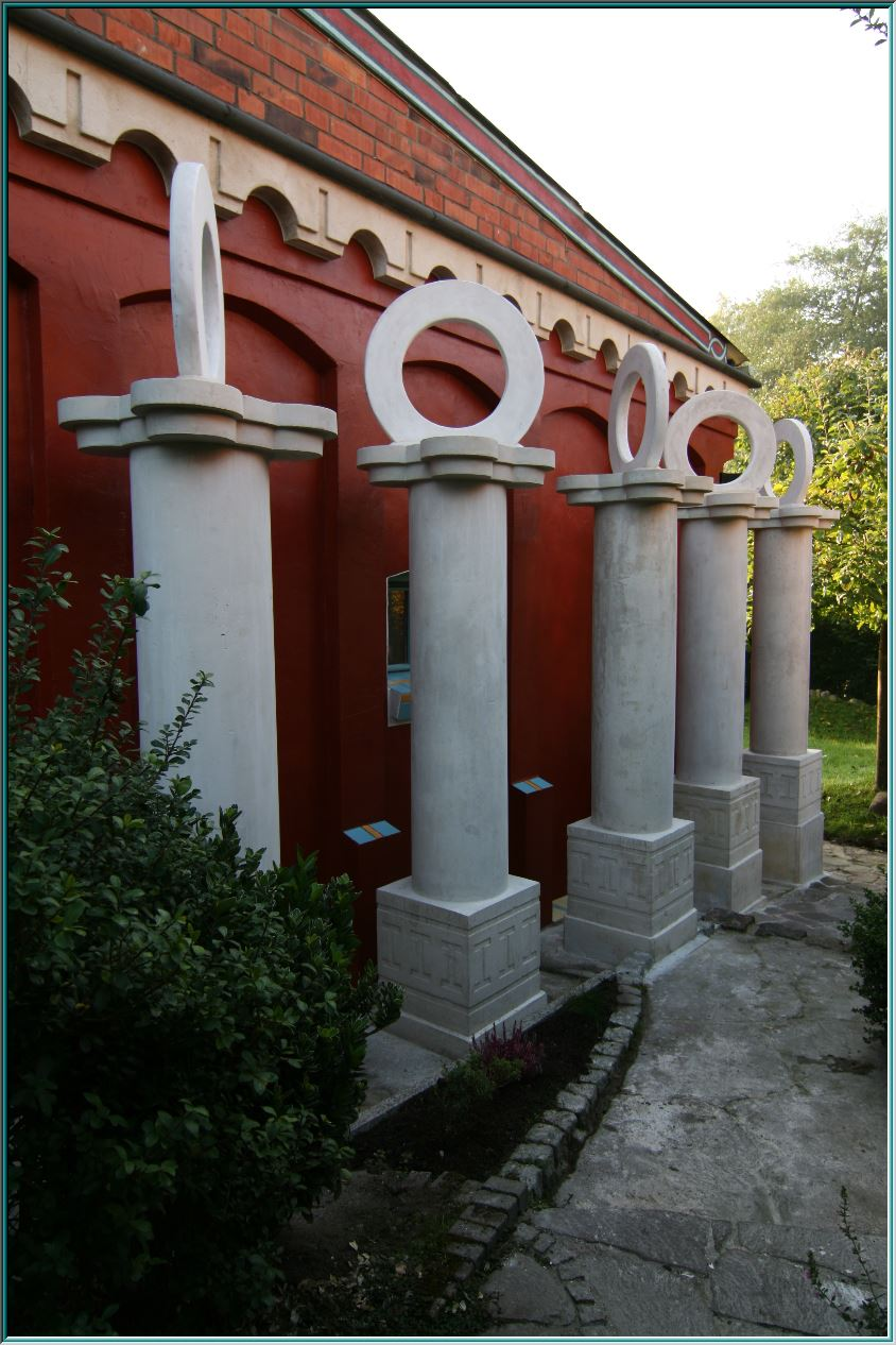 Sculpture, building, facade, Romanesque, arch frieze, cornices, decoration, structure, components, artificial marble,