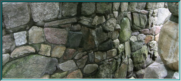 stone wall, Sole, masonry, retaining wall made of rocks, wall grouting of natural stone, garden wall, rock